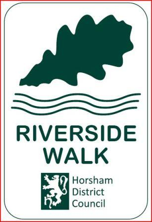 Horsham Riverside Walk Logo