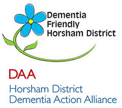 Dementia Friendly Horsham District logo