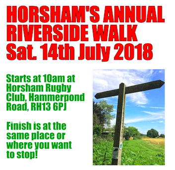 2018 Annual riverside walk