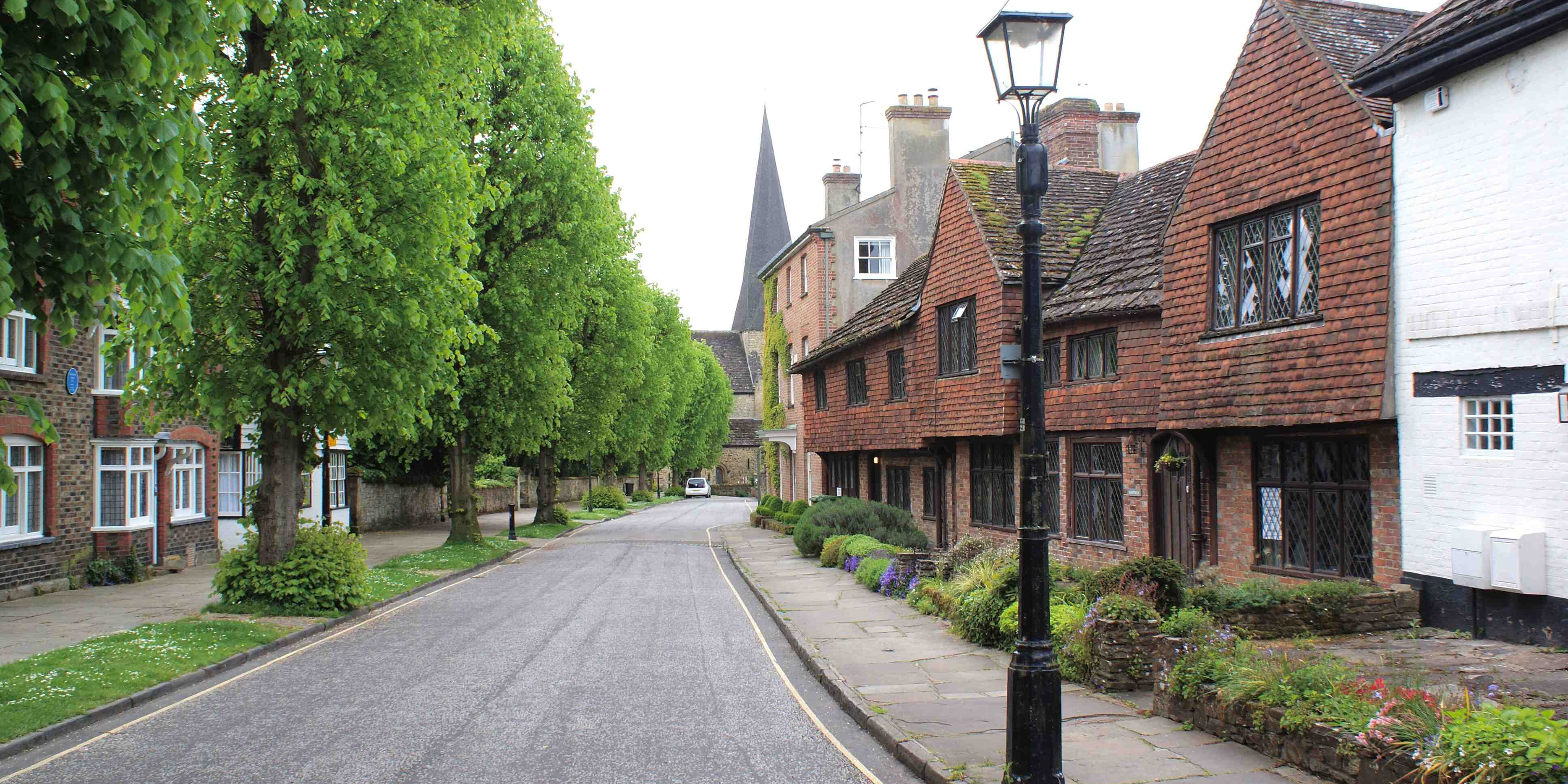 The Causeway in Horsham; part of our community