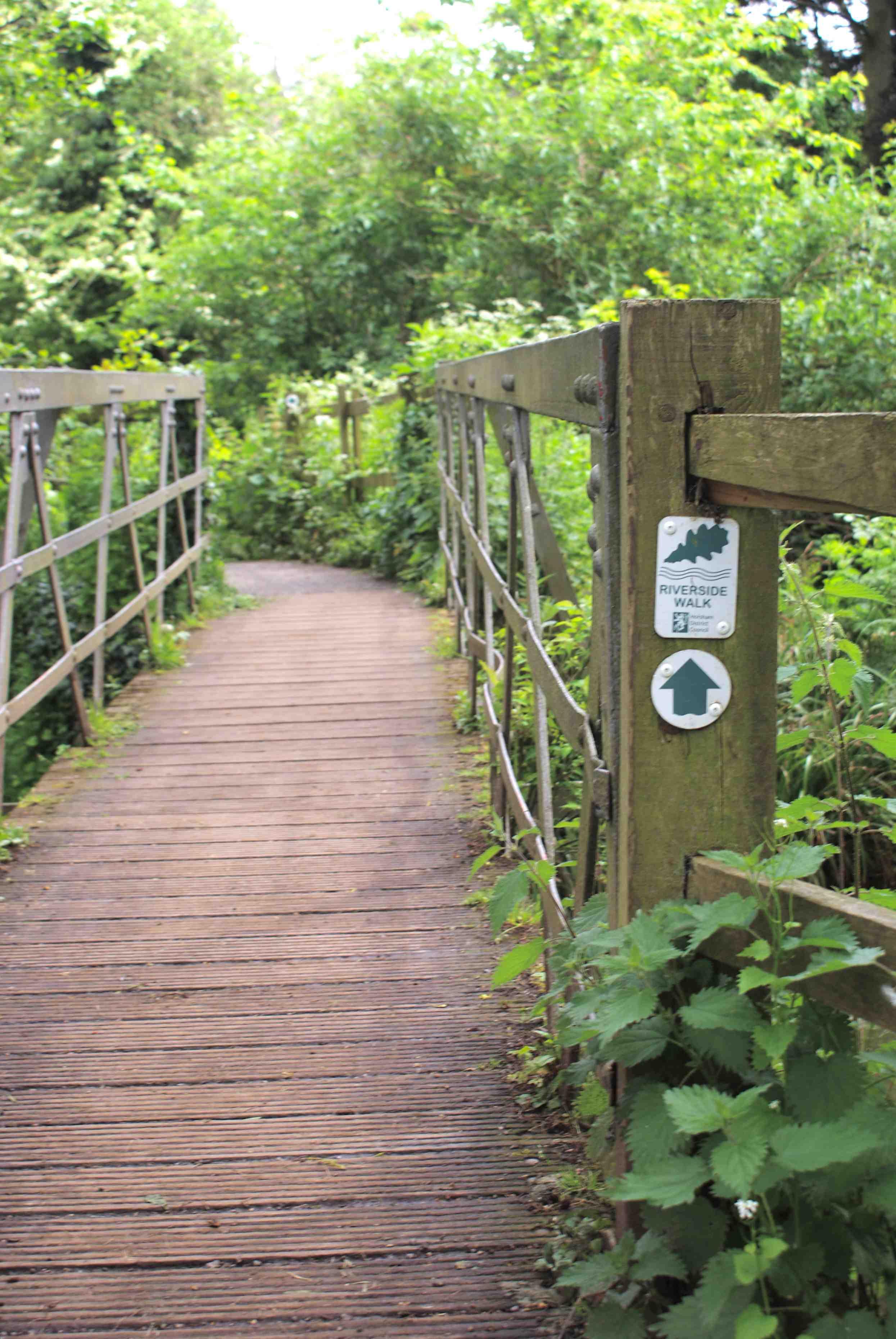 Riverside Walk project near St Mary's