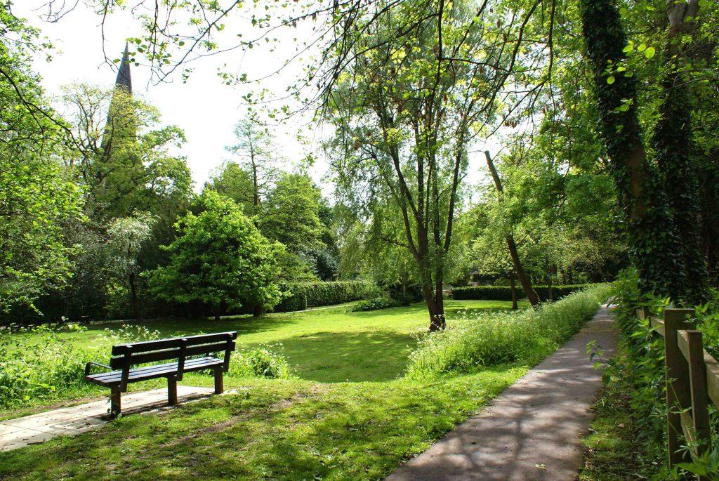 Gardens near St Mary's