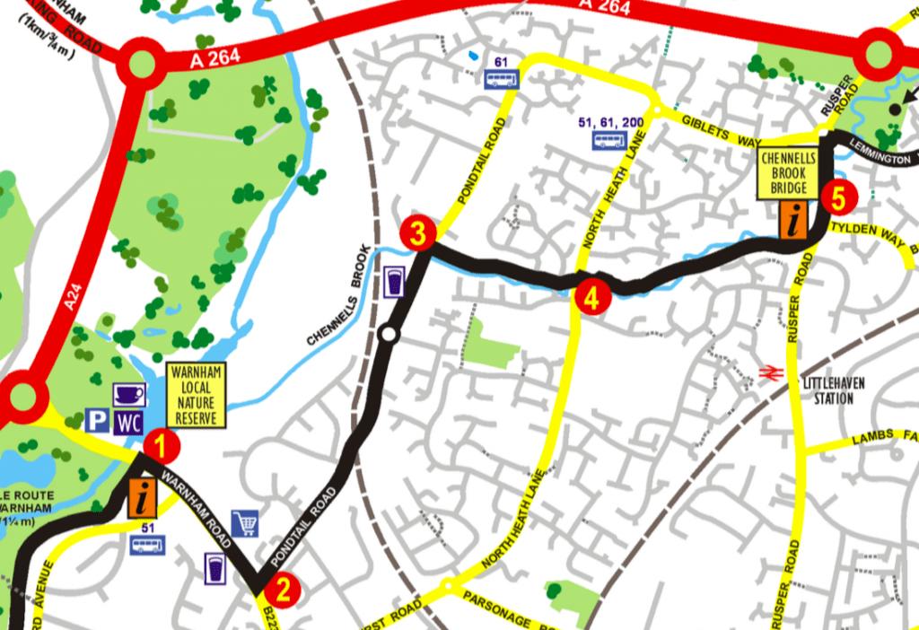 Horsham Riverside Walk 1 - 5
