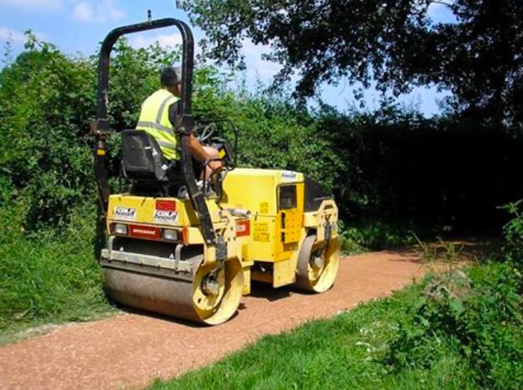 Resurfacing of RSW near Hills Farm Lane