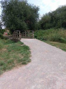 Golf Course to Millenium Bridge 2018 RSW Surface Near Bridge