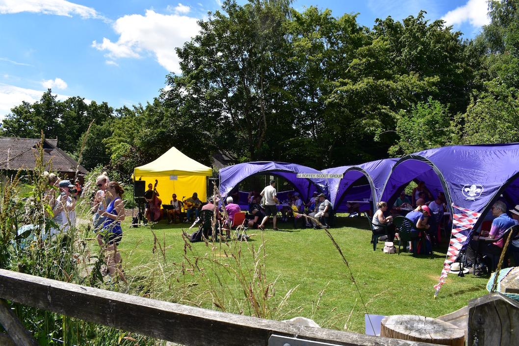 Lunch at Warnham Nature Reserve