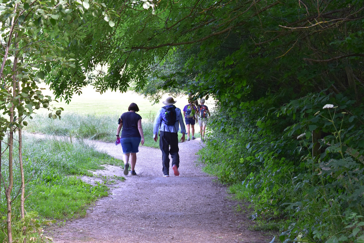 Walkers near Rookwood Golf Club