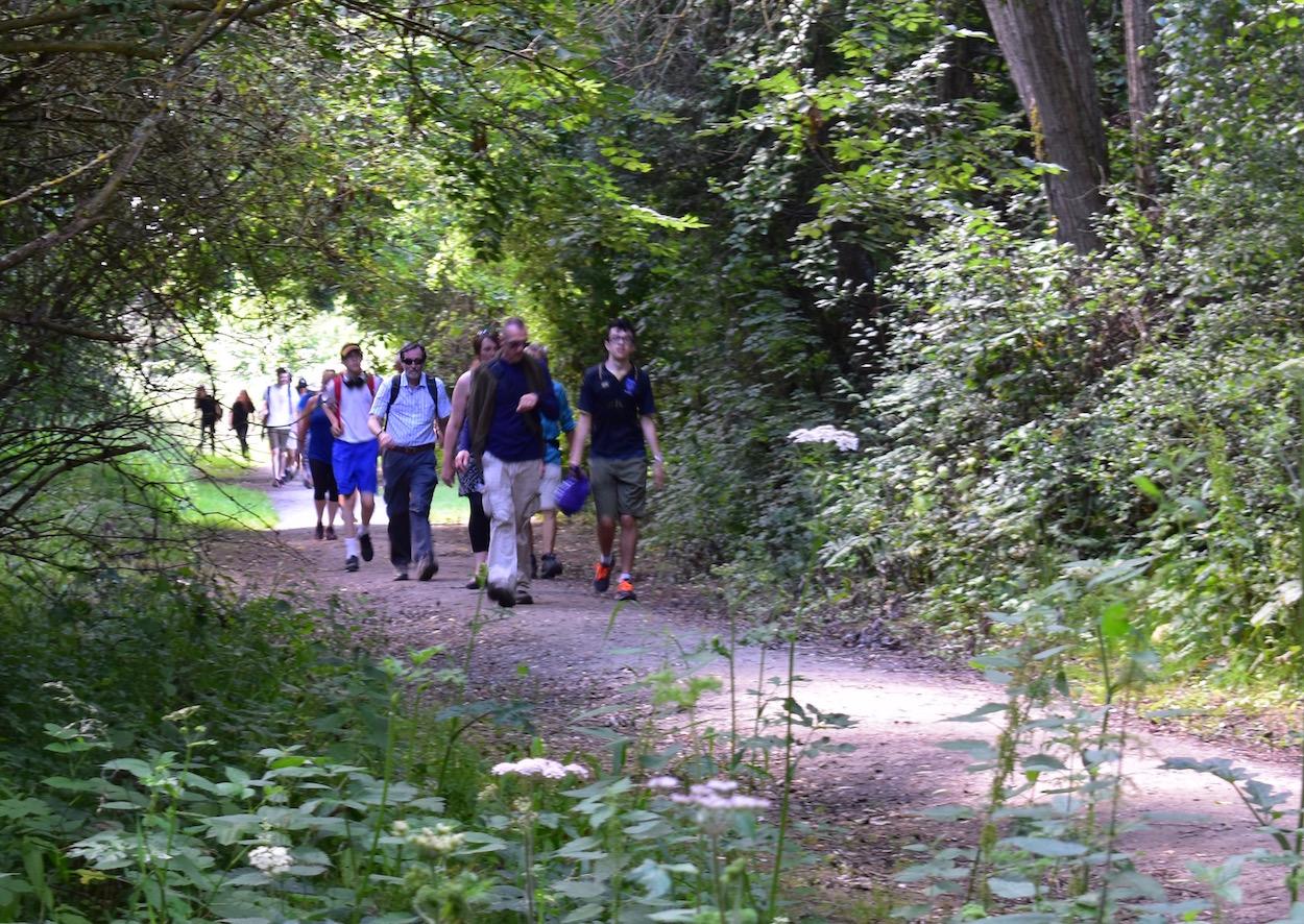 Walkers near Rookwood Golf Club
