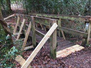 Repairs to bridge